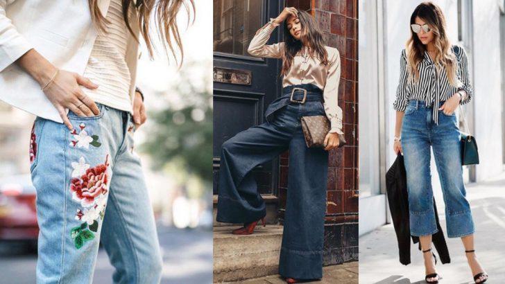 Jean Modası – Bayan Kot Pantolon Modelleri